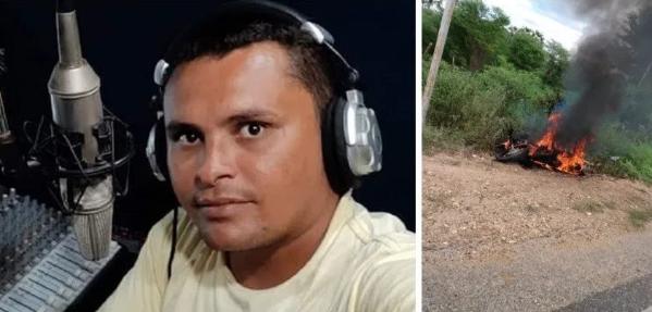 Alto do Rodrigues: Radialista sofre atentado; tem moto incendiada ...