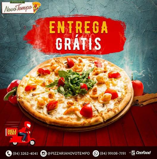 Nesta segunda-feira(27) deguste a deliciosa Pizza na Pizzaria Novo ...